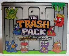 THE TRASH PACK - SERIES 1 - 2 x FIGURES IN SEALED ORANGE TRASH CAN