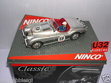 NINCO 50465 SLOT CAR JAGUAR XK120  #58 SILVER   MB