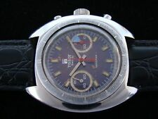 VTGE UNUSUAL TISSOT SEASTAR CHRONOGRAPH. EXCELLENT WORKING. 70S