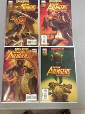 NEW AVENGERS THE REUNION #1-4 DARK REIGN HAWKEYE MOCKINGBIRD