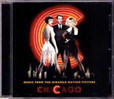CHICAGO Soundtrack CD Catherine Zeta-Jones Renee Zellweger Richard Gere Musical