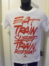NEW-DIRTY ADIDAS T-SHIRT YOUTH M MEDIUM (10/12) 33SR