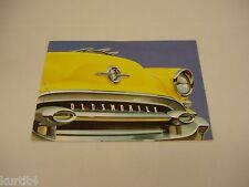 1955 Oldsmobile Full Line Ninety-Eight 98 Super 88 sales brochure dealer folder