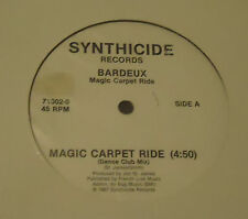 "BARDEAUX Magic Carpet Ride 12"" Synthicide Italo"