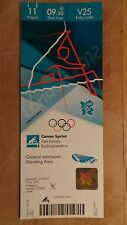 LONDON 2012 TICKET CANOE SPRINT ED MCKEEVER GOLD 11 AUG 0930 V25 £95 *MINT*