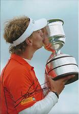 Joost LUITEN SIGNED Autograph Golf Photo AFTAL COA KLM Open Winner Netherlands