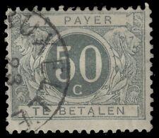 """BELGIUM J9 (Mi P9i) - Numeral of Value """"Postage Due"""" 1900 Printing (pa70980)"""
