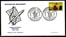 * Malagasy, Scott cat. 399. Composer issue on a First day cover.