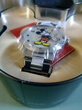 BNIB DISNEY CLASSIC BY INGERSOLL UNISEX STAINLESS WATCH CREAM DIAL
