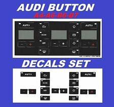 AUDI A4 8E B7 CLIMATE TEMPERATURE A/C HEATER CONTROL BUTTON BUTTONS SWITHES KNOB