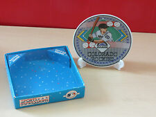SPORT IMPRESSION ~ colorado rockies mini plate ~ stand included original packing