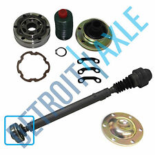 New Front Drive shaft Complete Replacement CV Joint Kit for Jeep Trucks - 4x4