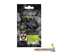 Bielenda CARBO Detox Carbone Carbonio Maschera Pelle Mista 8g (Verde)