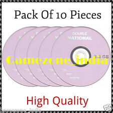 Set OF 10 Pieces National  Dual Double Layer Blank DVD+R 8.5GB Best Price