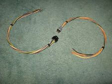 Miniature Tube 9-Pin Cable Connector Pair Male Fem 18 in - Vintage NOS Qty 1 Set