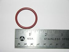 """SILICONE O-RINGS  QTY 25 Pcs.  1.119"""" ID X 1.359"""" OD (Actual Width = .120"""")"""