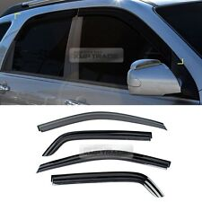 Smoke Window Sun Vent Visor Rain Guard Molding 4p for KIA 2005-2010 New Sportage