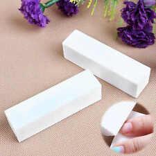 2Pc Utility Nail Art Buffer File Block Pedicure Manicure Buffing Sanding Polish