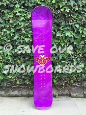 Vintage '97 Lib Tech Jamie Lynn Mini Narrow Snowboard Mike Parillo purple face