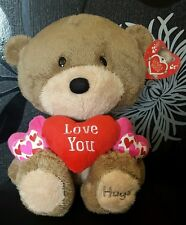 "Large Hugs 'Love You' Love & Hugs 14"" Soft Toy (Card Factory) NEW"