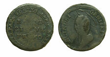 pci2542) St Pontificio - FERMO Madonnina - 5 Baiocchi 1797