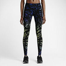 $150 Nike Printed Engineered Women's sz S Running Tights pants 695499 455