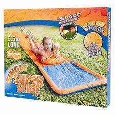 GONFIABILE WATER SLIDE 5.5 m diapositiva Aqua MAT BOODIE Board Bambini Divertente GIARDINO WAVE