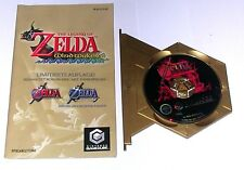 "GameCube juego ""The Legend of Zelda Ocarina of Time + Master Quest Bonus CD"