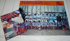 MIROIR RUGBY N°223 1980 PERPIGNAN USAP BERTRANNE JOINEL PEDEUTOUR CAUSSADE