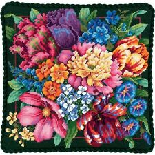 NEW | Dimensions D72-120011 Floral Splendor Cushion Front/Picture Tapestry Kit