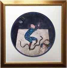 """Graciela Rodo Boulanger """"The Magic Flute"""" CUSTOM FRAMED Lithograph Art"""