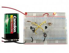 EDU-50B Training Lab 50 Experiments/all parts and breadboard w/72 pg lesson book