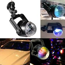 1x Auto Car Disco DJ Stage Lighting LED RGB Crystal Ball Lamp Bulb Light Party