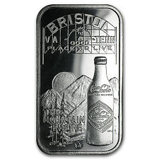 1 oz Silver Bar - Coca Cola (Bristol, VA-TN) - SKU #59727