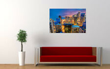 CHICAGO CITY SKYSCRAPERS NEW GIANT LARGE ART PRINT POSTER PICTURE WALL