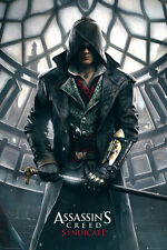 Assassins Creed Syndicate Poster - Big Ben - New Video Gaming poster FP3957