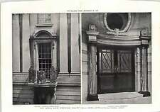 1912 New Council House Birmingham Congreve Street Entrance And Balcony