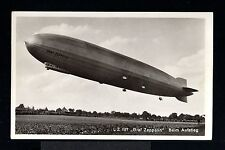 11395-GERMAN EMPIRE-POSTCARD GRAF ZEPPELIN AIRSHIP.Luftschiff.DEUTSCHES REICH