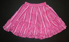 Jottum Euro boutique girl pink fuchsia Thara Toetsie stripe skirt 134/140 8 9 10