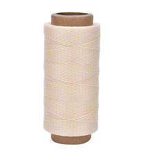 260M x1mm Thick (210D) Leather Sewing Waxed Coarse Thread Spool Polyester FG
