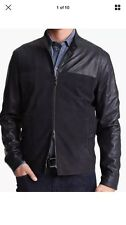 Men's ARMANI Collezioni Lambskin Leather Jacket Size US 46, MSRP $1945.00