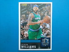 2016-17 Panini NBA Sticker Collection n.190 Deron Williams Dallas Mavericks