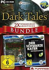 Dark Tales Bundle - Rue Morgue / Schwarze Kater - PC - deutsch - Neu / OVP