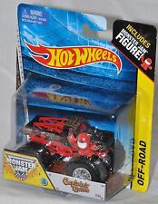 Hot Wheels #46 Monster Jam Captain's Curse with Figure MOC 2014 Off Road