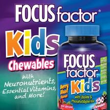 FOCUSfactor Kids - 150 Chewable Tablets - NEW