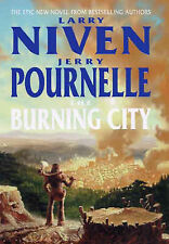 The Burning City by Jerry Pournelle, Larry Niven (Hardback, 2000)