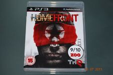 Homefront Ps3 Playstation 3 Casa Frente ** GRATIS UK FRANQUEO **
