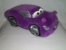 "DISNEY STORE Pixar CARS 2 Plush 13X7"" HOLLY SHIFTWELL Purple Lg Stuffed Toy"