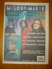 MELODY MAKER 1991 OCT 19 TEENAGE FANCLUB SHAMEN BLUR
