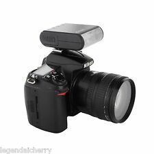 Mini DSLR Camera Slave Flash Speedlite for Canon 700D 650D 760D 750D 450D 1300D